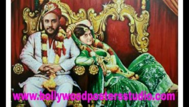 Customized bollywood painting – cherish and unique wedding gifts for friends