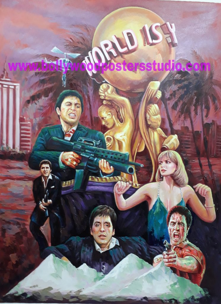 Make your own custom bollywood poster in hollywood style