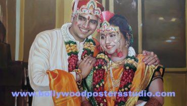 PORTRAITS – marriage / anniversary gifts mumbai online
