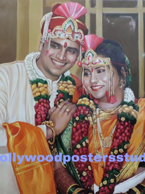 PORTRAITS – marriage / anniversary gifts mumbai online