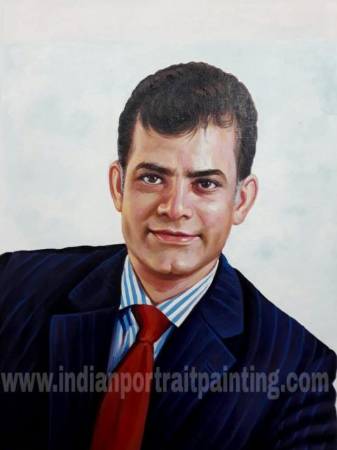 Portrait painting gifts with respect india online