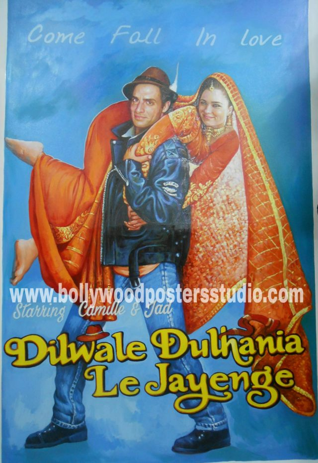 Custom bollywood poster making india online