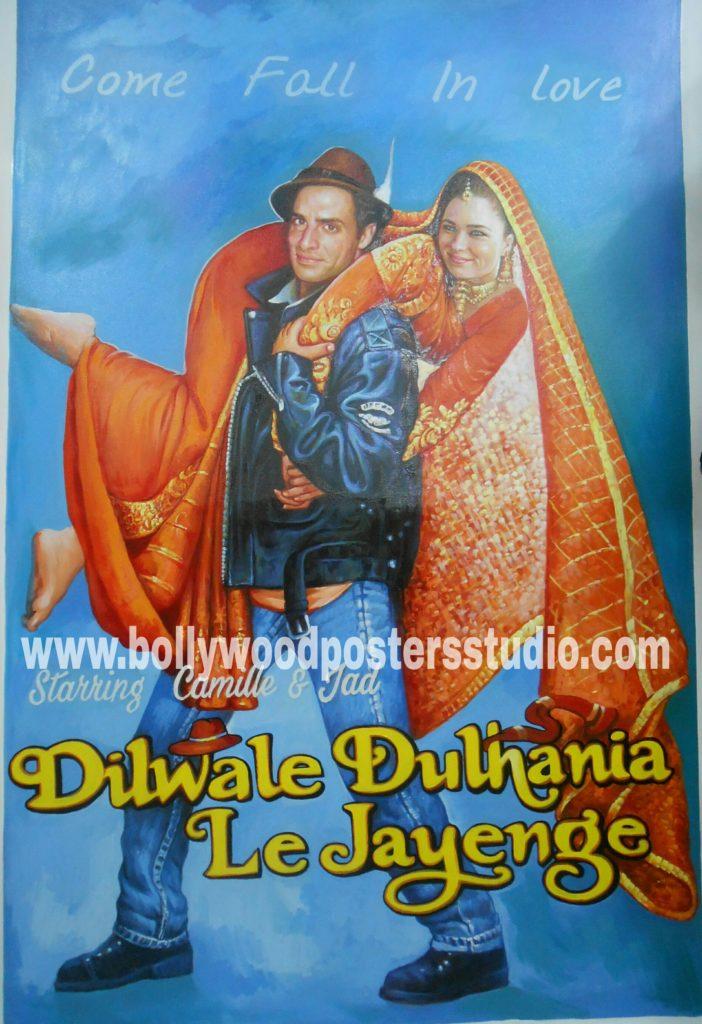 Custom bollywood poster making india online