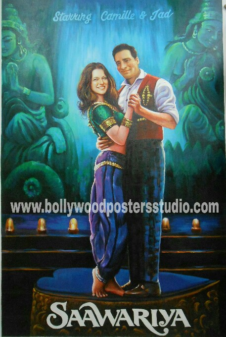 Make your own custom bollywood poster online