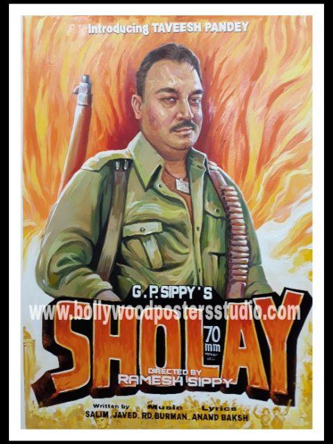 Custom bollywood poster painter mumbai, maharashtra