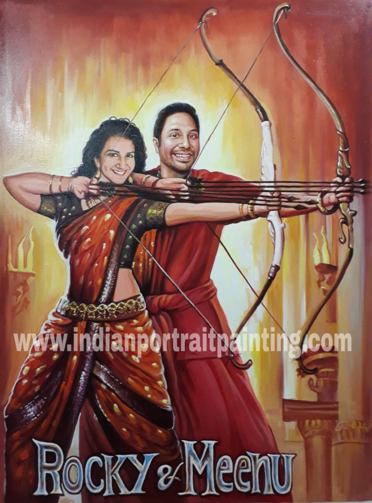 Customise gift for bollywood movie fans