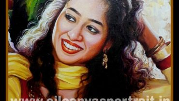 Hand painted portraits from photos india, mumbai