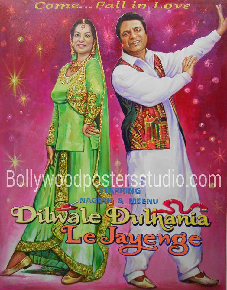custom made bollywood posters