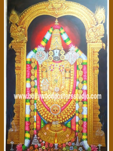 Canvas oil paint – Balaji painting