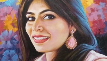 Hand painted portraits from photo artist
