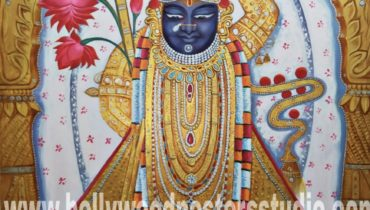 Oil on canvas paintings – Shrinath ji