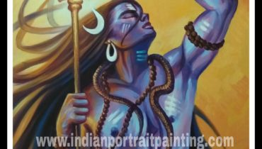 Paintings in oil on canvas lord shiva – at best price